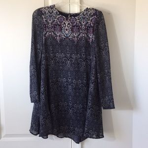 Ecote long sleeve dress